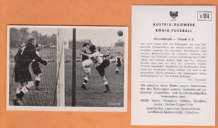 West Germany v Ireland Adam Kaiserslautern Schanko Borussia Dortmund Gibbon St Patricks Athletic A114 (B)